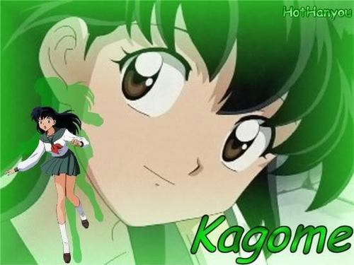 chrie♥ 壁紙 probably containing アニメ called kagome