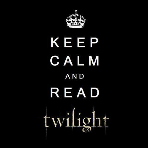 keep calm and read