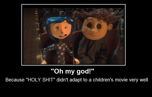 Coraline fond d'écran called oh my god