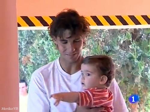 rafa and child 2011