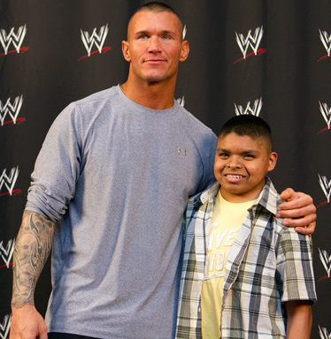 randy orton and Fan