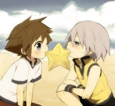 riku and sora share paopu fruit!