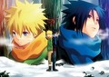 sasuke and naruto - sasuke-and-sakura photo