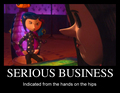 serious business - coraline photo