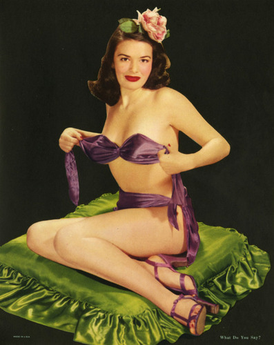 1950's Pin Up Girl - pin-up-girls Photo