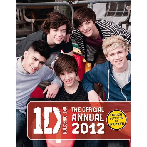 1D = Heartthrobs (Enternal 사랑 4 1D) Official 2012 Annual!!! 100% Real ♥