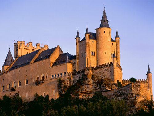 알카사르, 자드 성 - Segovia