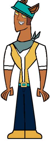 Alejandro as Clawd 狼, オオカミ