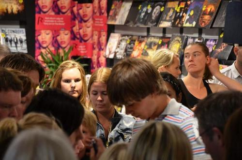 Alex on Strandtorget :)