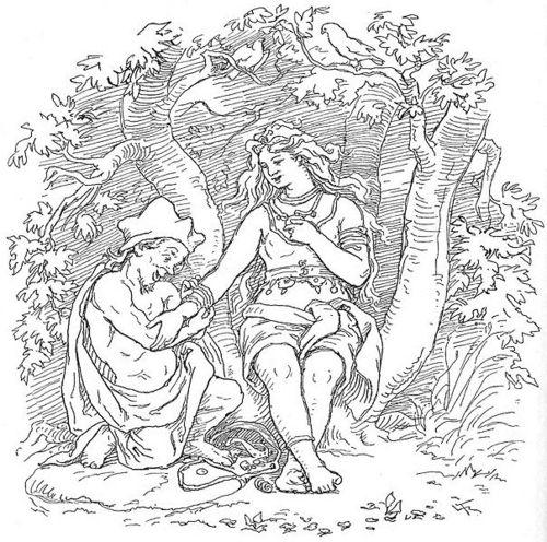 Alvíss and Thrud