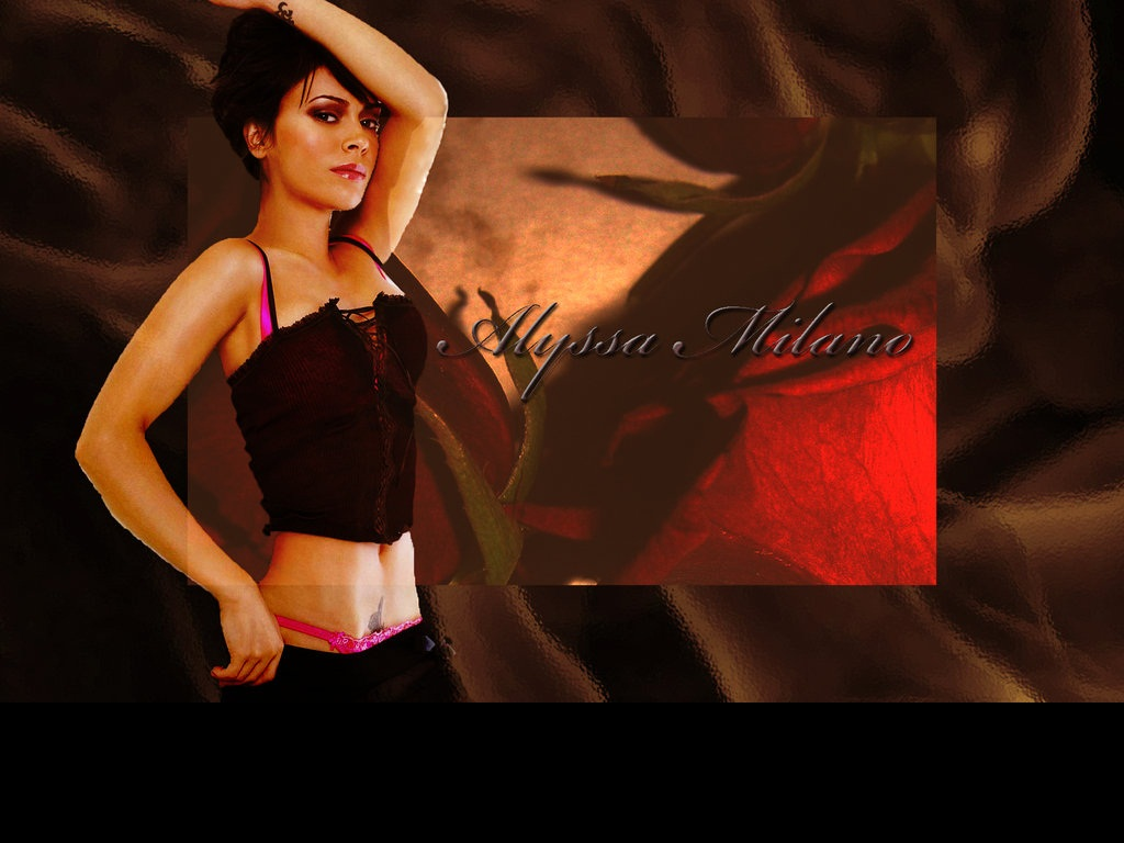 Alyssa Milano Wallpaper