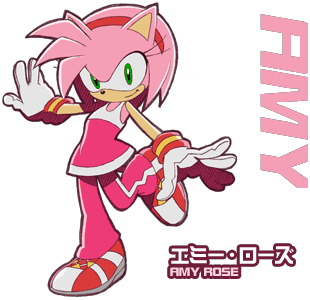 Amy in Sonic Riders