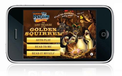 App Penguins of madagascar!
