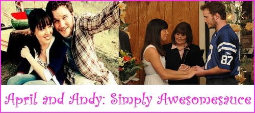 April and Andy: Simply Awesomesauce