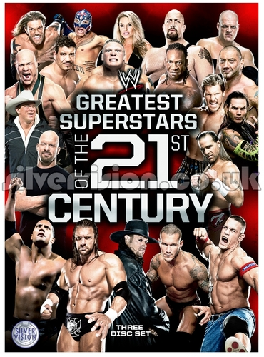 Artwork For WWE's New Greatest Superstars DVD