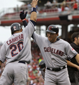 Asdrubal and Orlando Cabrera