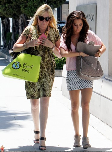 Ashley - Shopping at Planet Blue in Beverly Hills with her Mom Lisa - June 30, 2011