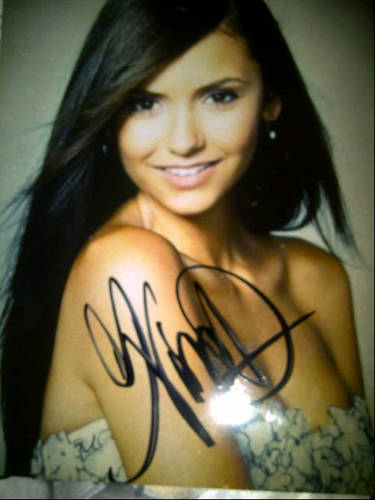 Autogrphed Pictures