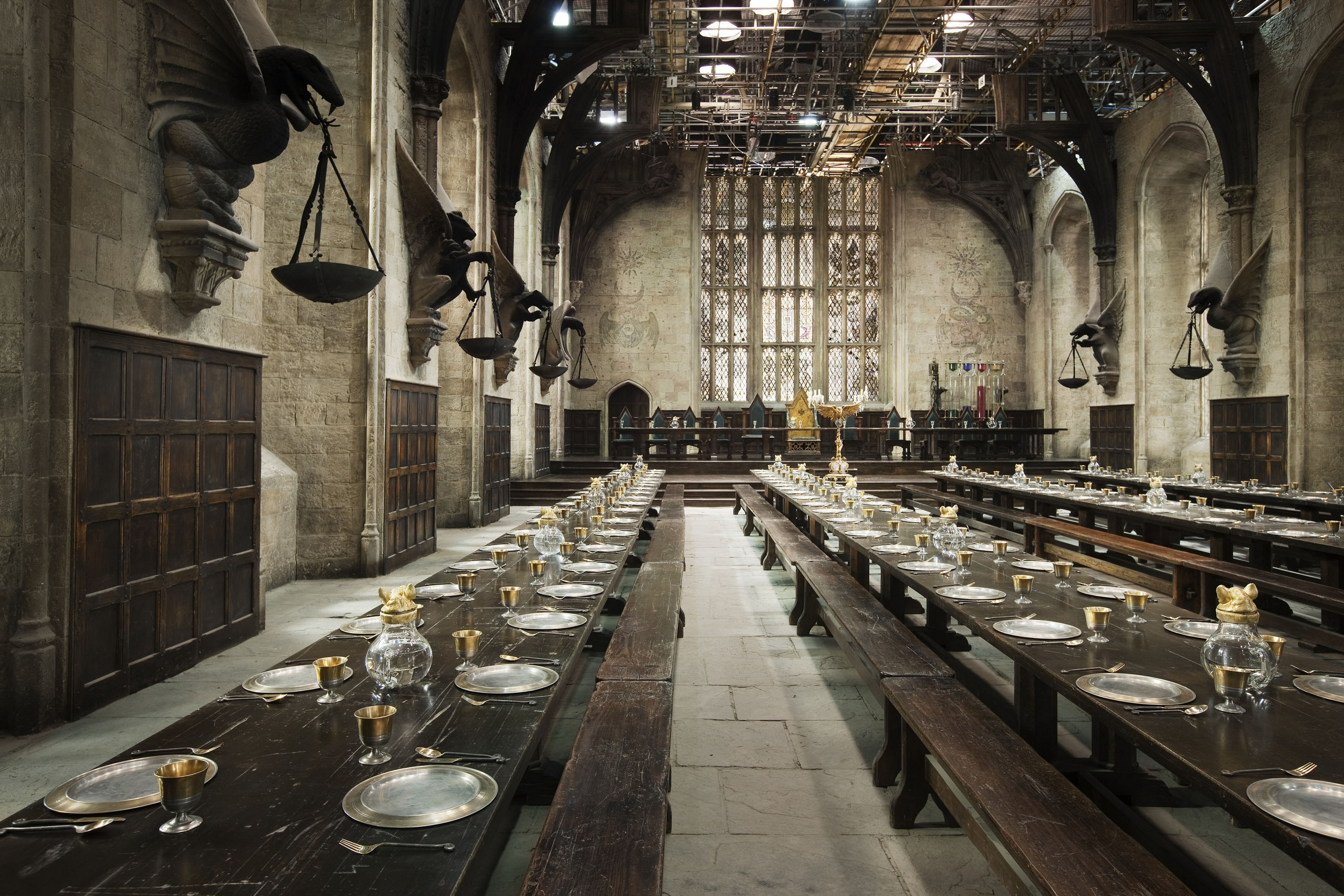 Sala De Jantar Hogwarts ~ Harry Potter images Behind the scenes HD wallpaper and background