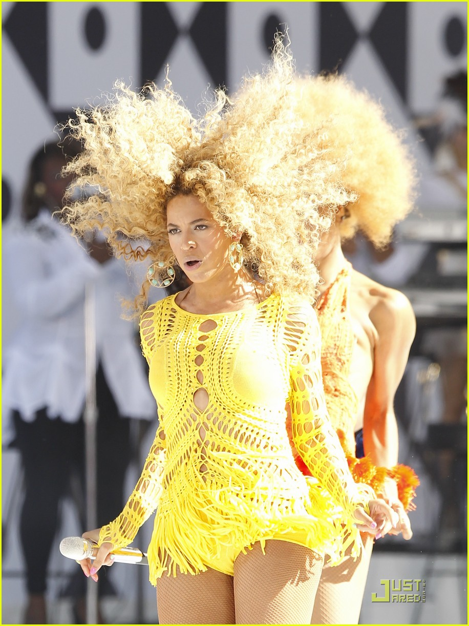 Beyonce: GOOD MORNING AMERICA! - Beyonce Photo (23340310) - Fanpop