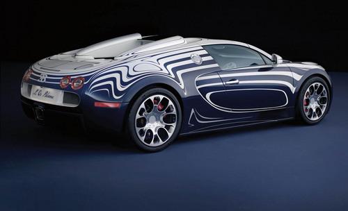 Bugatti Veyron Grand Sport LOr بلانک