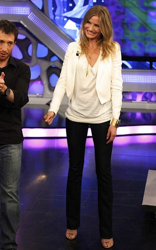 Cameron Diaz on the Spanish TV show 'El Hormiguero' (June 30).