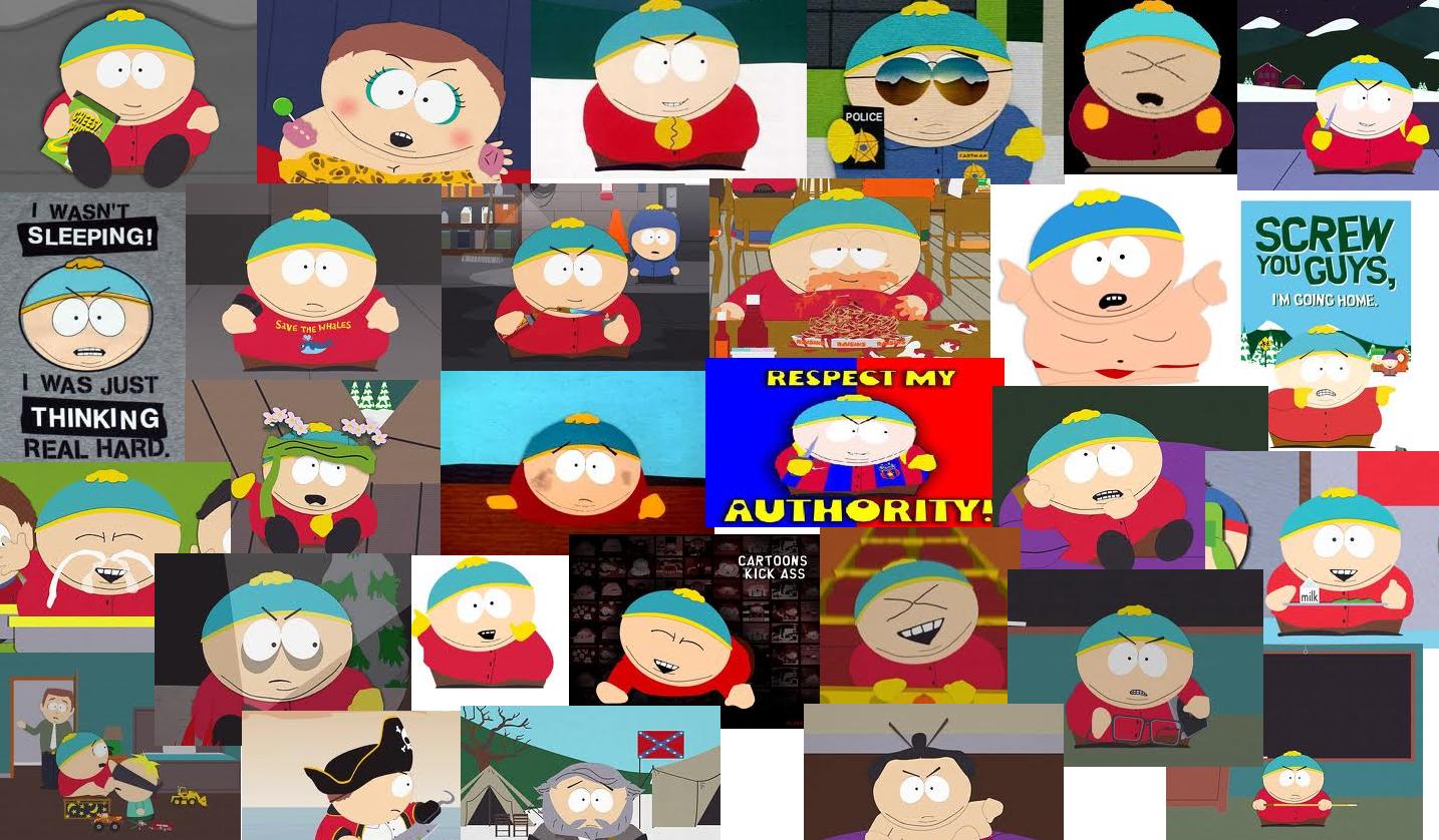 Cartman collage