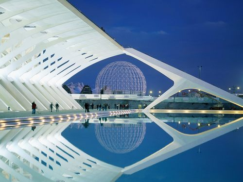 City of Arts and Sciences - Valencia - spain Wallpaper