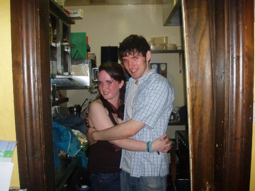 Colin w/ unknown girl - colin-morgan Photo