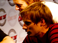 Comic Con France 2011 - Merlin PanelFirst signing: Bradley James - arthur-pendragon photo