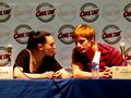 Comic Con France 2011♥ - bradley-james-and-katie-mcgrath photo