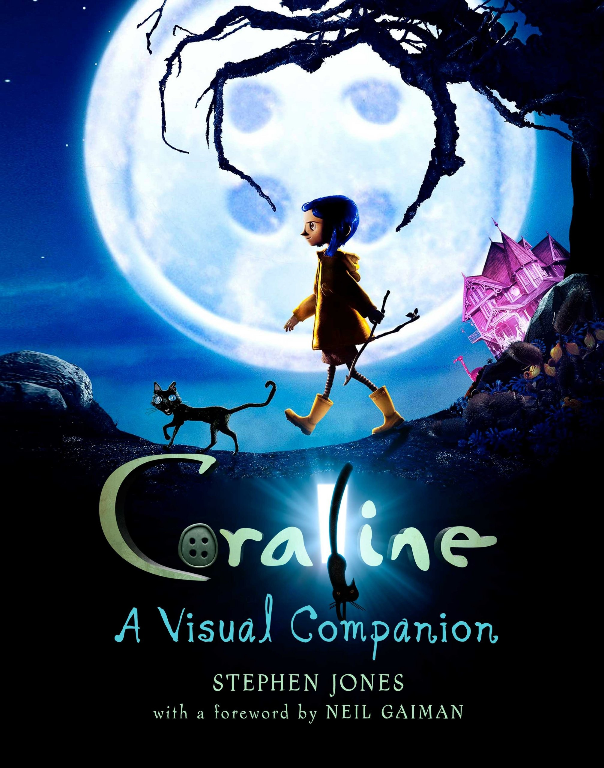 Coraline looking for the ghost eyes