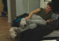 Damo's Slippers are too cute :P - damian-mcginty screencap