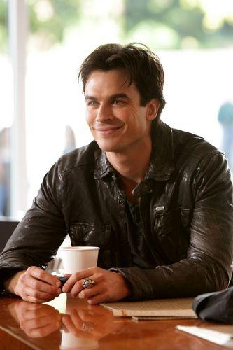 Damon's Smile
