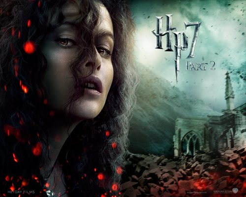 Bellatrix Lestrange Hintergrund titled Deathly Hallows Part II Official Hintergründe