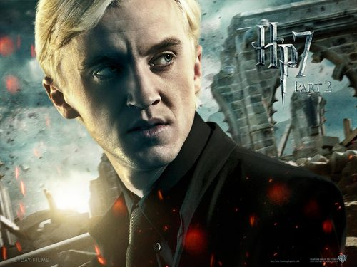 Deathly Hallows Part II Official Wallpapers - draco-malfoy Wallpaper