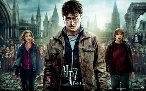Deathly Hallows Part II Official 壁纸
