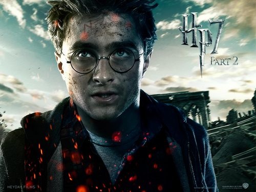 Deathly Hallows Part II Official پیپر وال