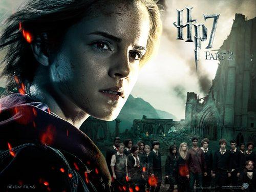 Deathly Hallows Part II Official karatasi za kupamba ukuta