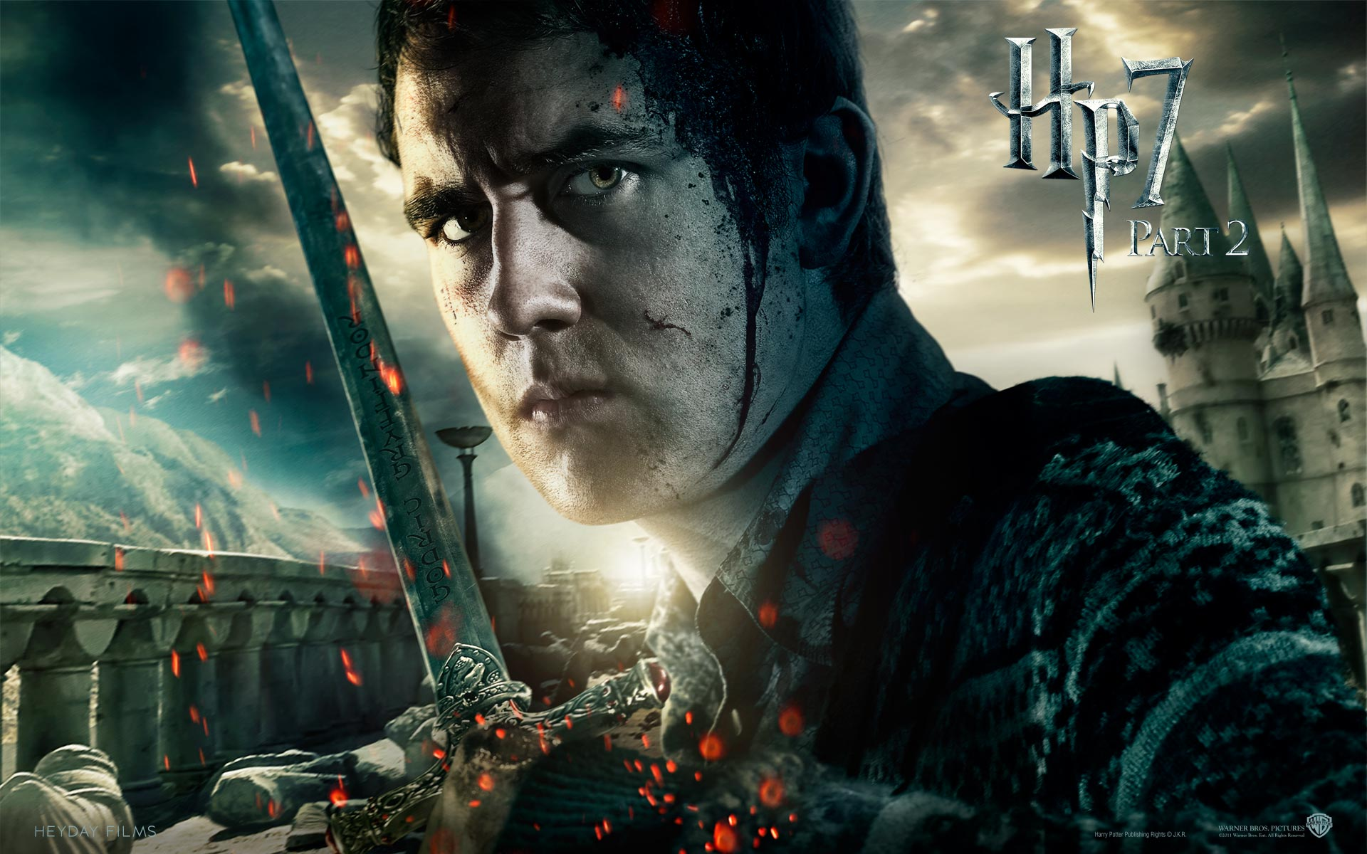 Deathly Hallows Part Ii Official Fonds D Ecran Harry