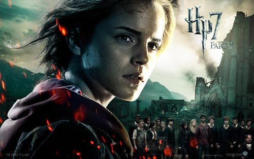 hermione granger wallpaper probably with a portrait titled Deathly Hallows Part II Official wallpaper