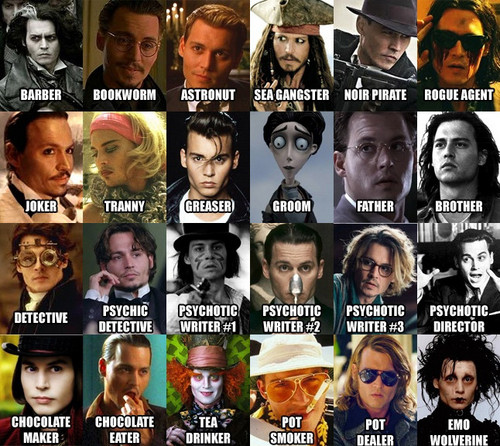 Depp's characters