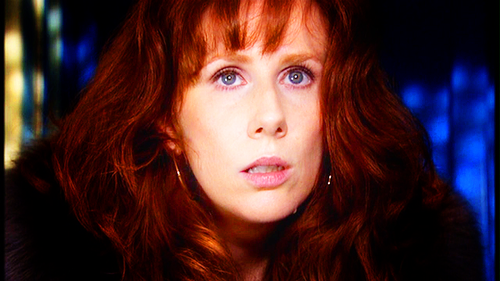 Donna Noble kertas dinding with a bulu kot entitled Donna