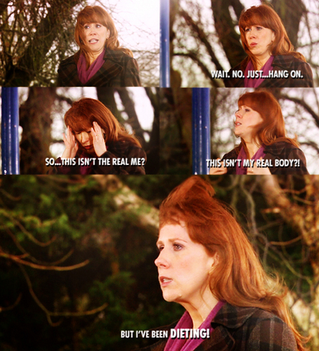 Donna Noble Hintergrund possibly with a portrait called Donna <3