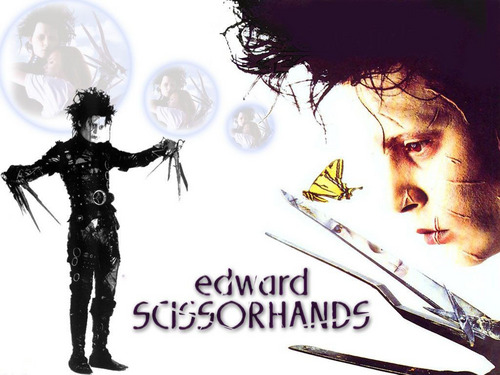 Edward Scissorhands wallpaper entitled Edward Scissorhands