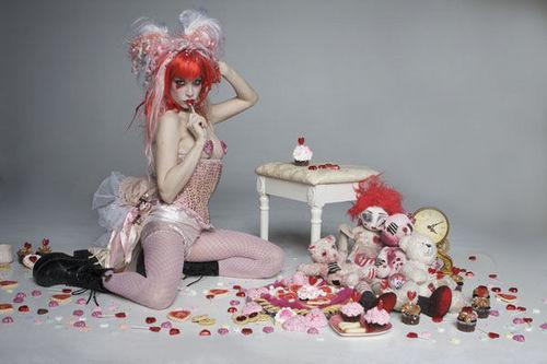 Emilie Autumn wallpaper possibly with a bouquet entitled Emilie Autumn