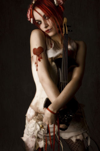 Emilie Autumn wallpaper possibly with a violist titled Emilie Autumn