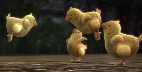 Final Fantasy wallpaper titled FF XIII Baby Chocobo! & Final Fantasy images FF XIII Baby Chocobo!! wallpaper and background ...