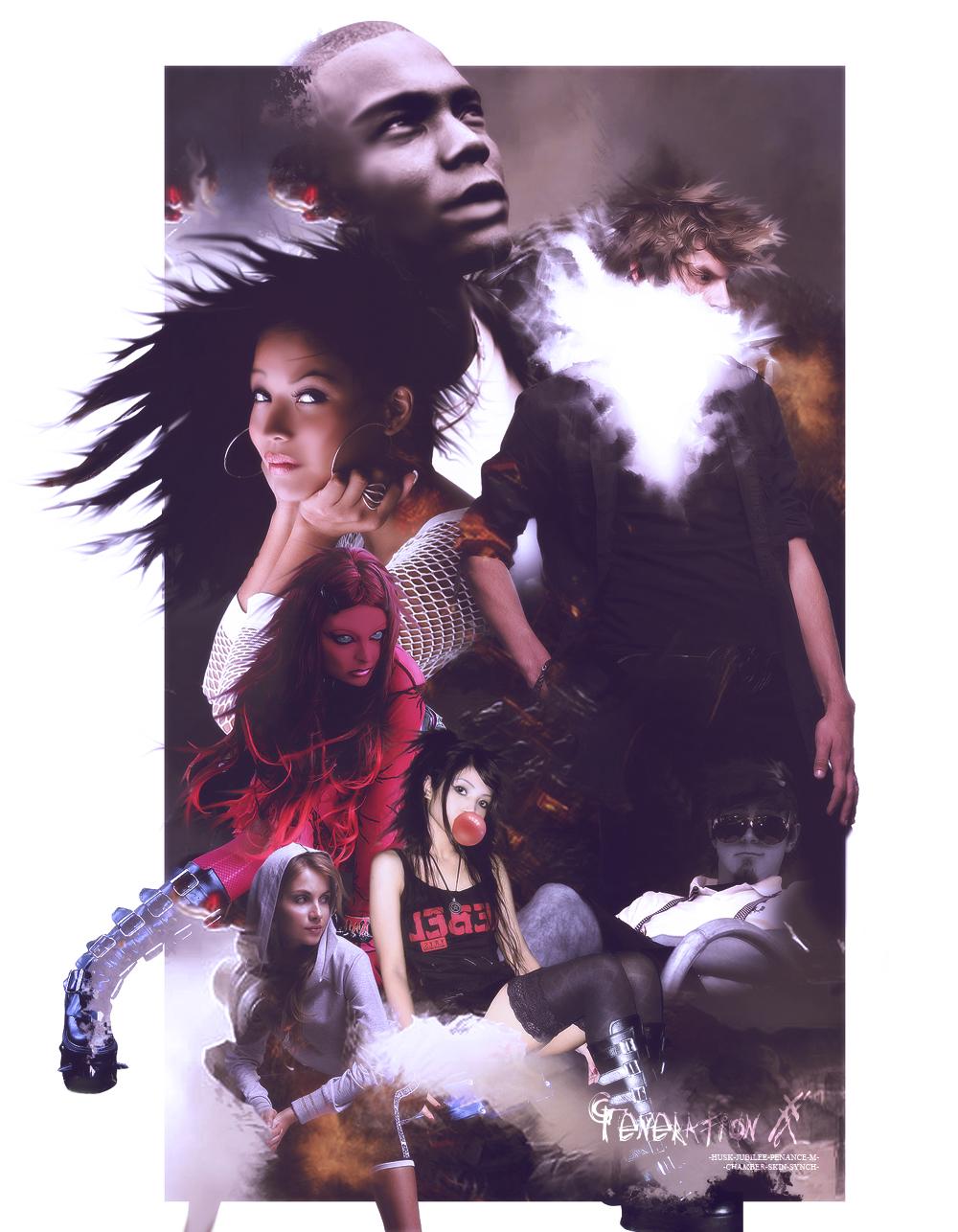 Generation X Fanart Movie Poster