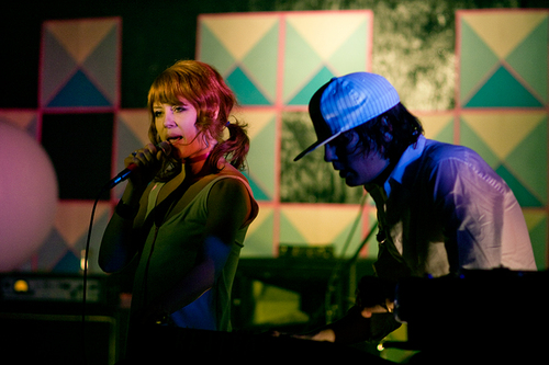 Glass Candy Live